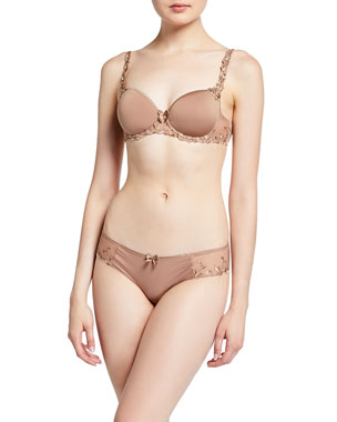 85891ea8219 Simone Perele ANDORA 3D MOLDED Andora Cotton-Blend Bikini Briefs