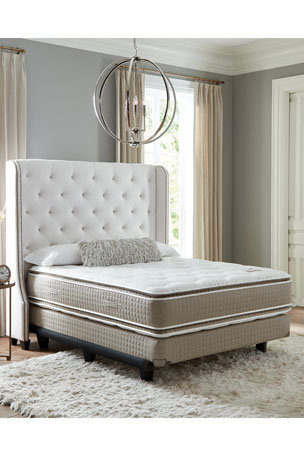Shifman Mattress Saint Michele Dauphine Collection California King Mattress & Box Spring Set Saint Michele Dauphine Collection Full Mattress & Box Spring Set