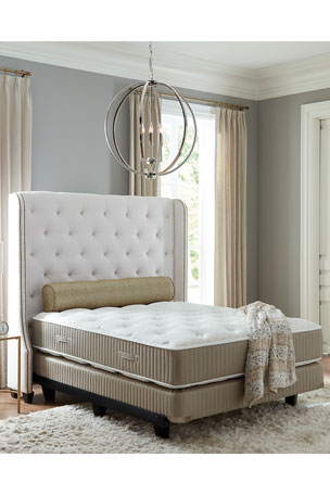 Shifman Mattress Saint Michele Serrant Collection California King Mattress & Box Spring Set Saint Michele Serrant Collection Queen Mattress & Box Spring Set Saint Michele Serrant Collection Full Mattress & Box Spring Set