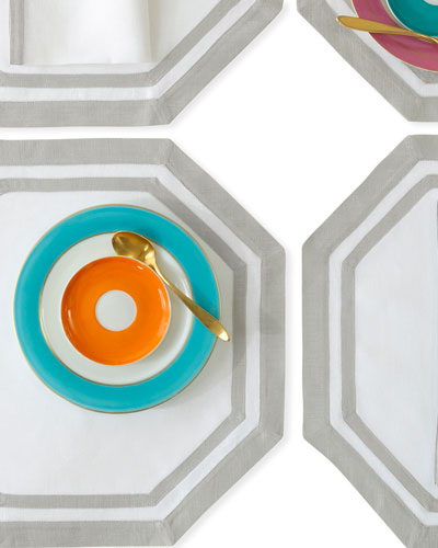 Casual Couture Octagon Placemats  Set of 4 and Matching Items
