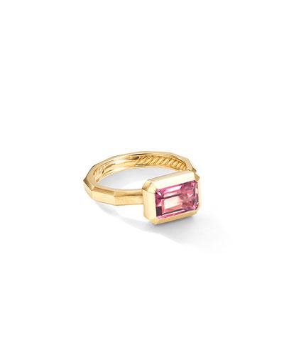 Novella 18k Pink Tourmaline Ring  Size 6 and Matching Items
