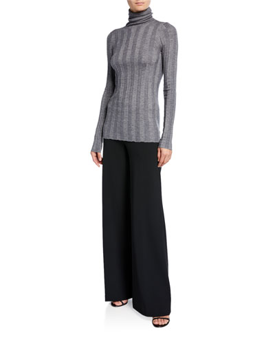 Inez Cashmere-Silk Turtleneck Sweater and Matching Items
