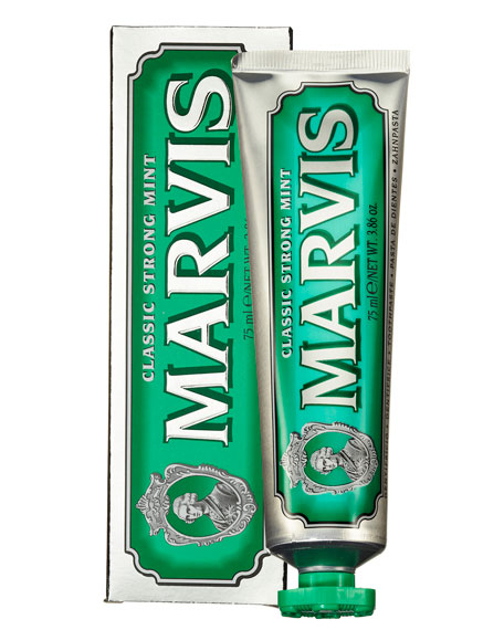 Marvis Classic Strong Mint Toothpaste, 3.8 oz./ 75 mL