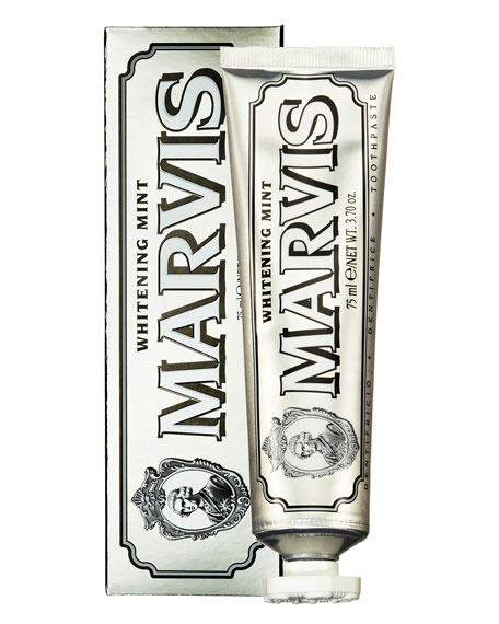 Marvis Whitening Mint Toothpaste, 1.3 oz./ 25 mL