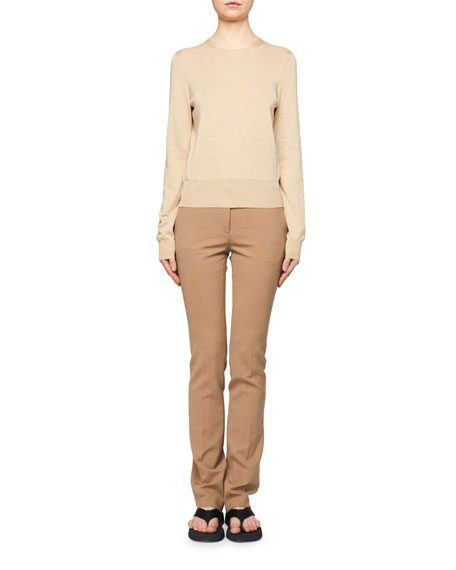 THE ROW Raffi Cashmere/Silk Sweater