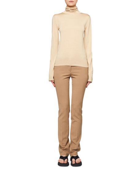 THE ROW Margarita Cashmere-Silk Turtleneck Sweater