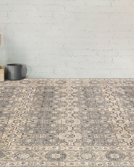Dayton Hand-Knotted Rug, 10' x 14'