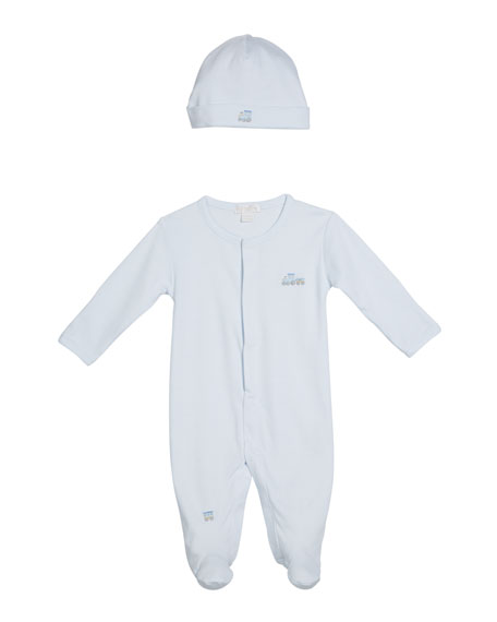 Kissy Kissy Premier Choo Choo Striped Baby Hat