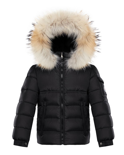 Boy's New Byron Hooded Jacket w/ Fox Fur Trim  Size 4-6  and Matching Items