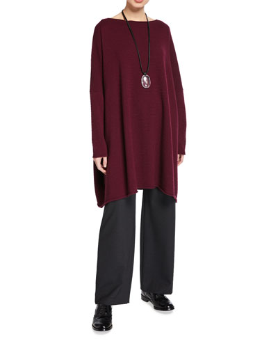 Cashmere Square Kaftan Sweater and Matching Items