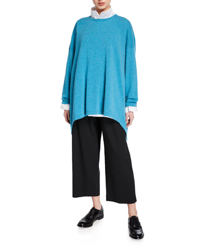 Cashmere High-Low Sweater and Matching Items