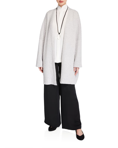 Cashmere Open-Front Cardigan and Matching Items