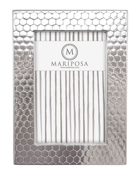 "Mariposa Honeycomb Picture Frame,  5"" x 7"""