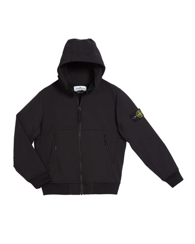 Lightweight Techno Hooded Jacket  Size 8-10  and Matching Items