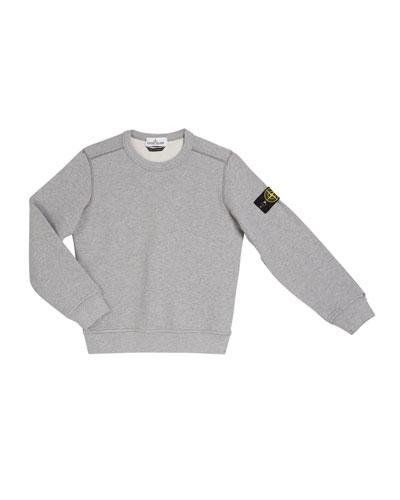 Cotton Sweatshirt w/ Logo Tab on Sleeve  Size 2-6  and Matching Items
