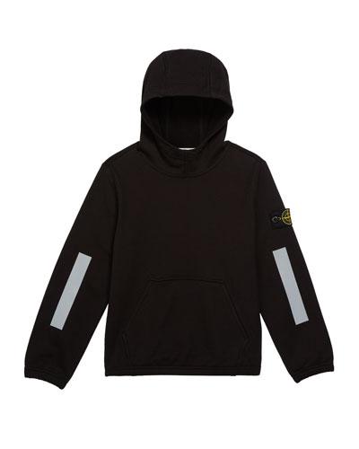 Boys' Hooded Sweatshirt w/ Kangaroo Pocket & Reflective Tape  Size 12 and Matching Items