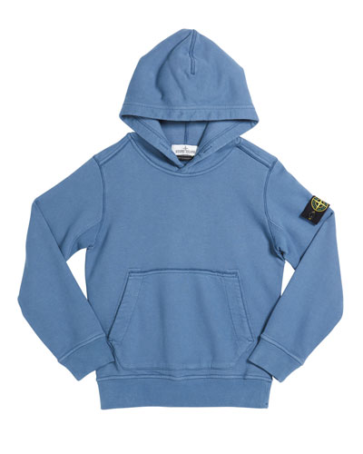 Boy's Cotton Logo Hoodie, Size 12  and Matching Items