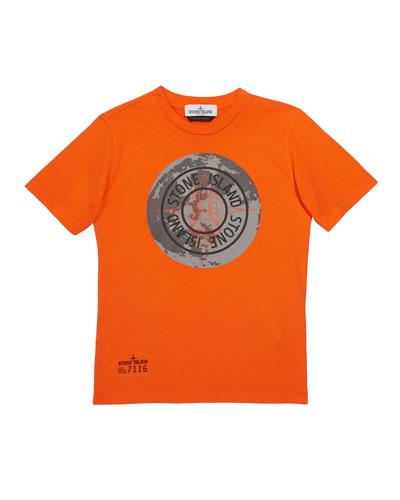 Boys' Moonlanding Screen-Print Logo T-Shirt  Size 12 and Matching Items