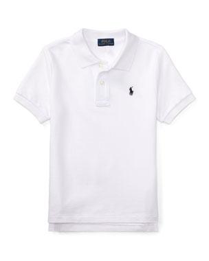 68905b02 Ralph Lauren Childrenswear Short-Sleeve Logo Embroidery Polo Shirt, Size  2-3 Short
