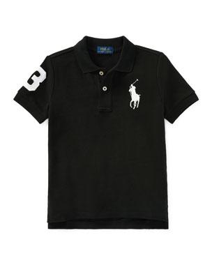 2db2177a5 Ralph Lauren Childrenswear Big Pony Mesh Knit Polo, Size 2-3 Big Pony Mesh