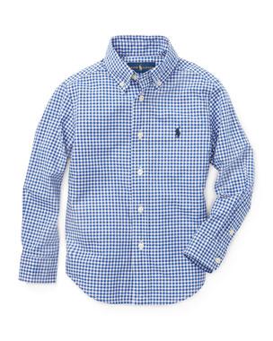 d843fe7ab Ralph Lauren Childrenswear Poplin Woven Gingham Sport Shirt