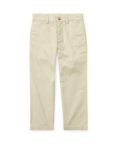 Chino Flat Front Straight Leg Pants  Size 4-7  and Matching Items