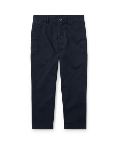 Chino Flat Front Straight Leg Pants  Size 8-14  and Matching Items