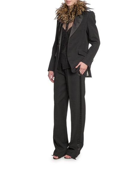 Marc Jacobs (Runway) Wide Lapel Tuxedo Jacket