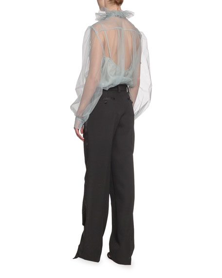 Marc Jacobs (Runway) Runway Blouse Bow-Neck Blouse