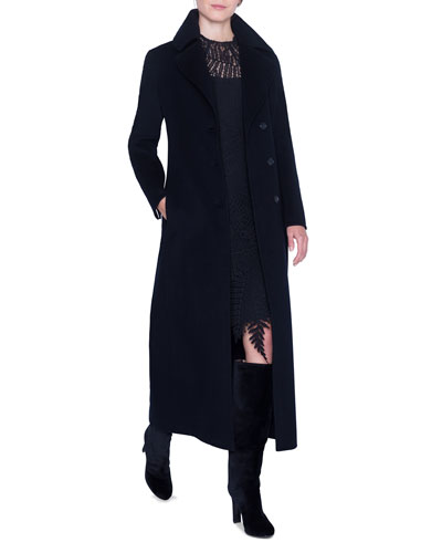Cashmere Midi Length Coat and Matching Items
