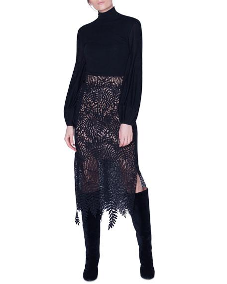 Akris Full-Sleeve Turtleneck Sweater