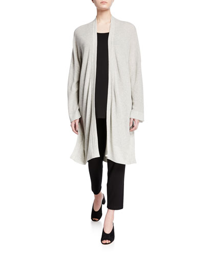 Organic Cotton/Silk Long Cardigan and Matching Items
