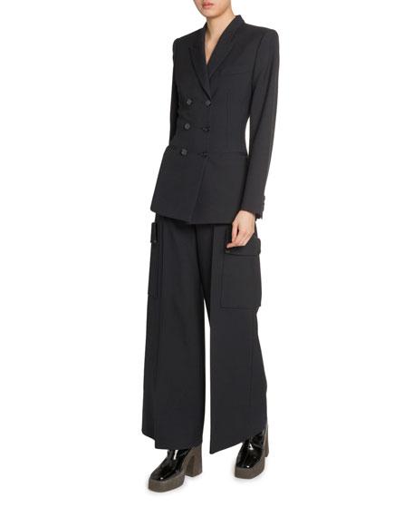 Stella McCartney Fitted 6-Button Blazer