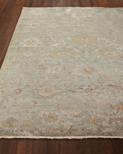 Martyn Hand-Knotted Rug, 8' x 10' and Matching Items