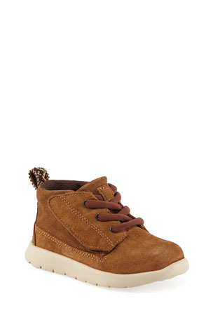 UGG Boys' Suede Canoe Boots, Kids
