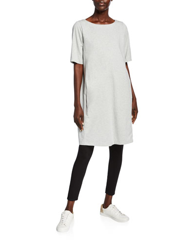 Speckle Knit Short-Sleeve Dress and Matching Items