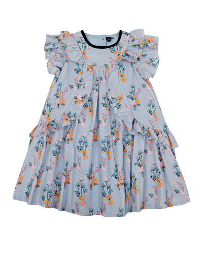 Tess Floral Flare Dress  Size 4-6  and Matching Items