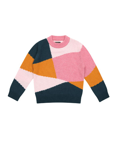 Meredith Colorblock Sweater  Size 8-12  and Matching Items