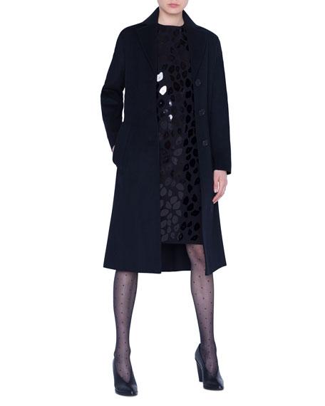 Akris punto Wool Midi Coat