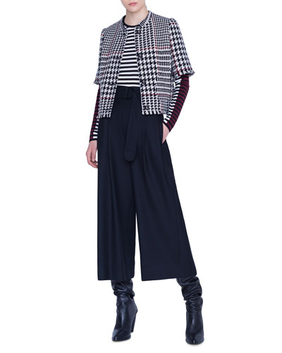 Fiorella Wool Wide-Leg Belted Pants and Matching Items