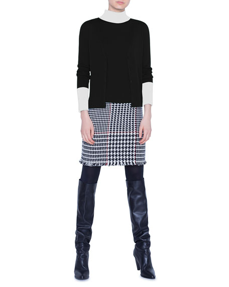 Akris punto Wool Sleeveless Sweater