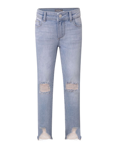 Chloe Distressed Skinny Jeans  Size 2-6  and Matching Items