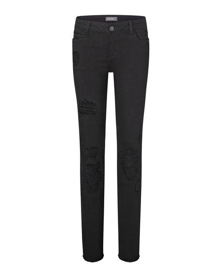 DL 1961 Girls' Chloe Nightstar Distressed Skinny Jeans, Toddler Sizes