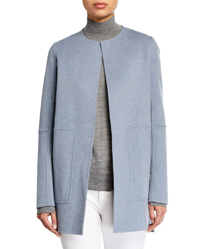 Rowena Two Tone Double Face Reversible Wool Jacket and Matching Items