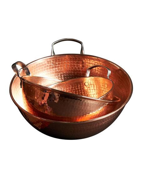 """Sertodo Copper Copper Mixing Bowl, 12"""""""