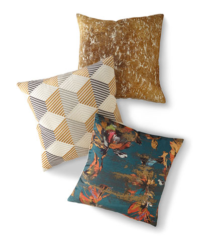 Mustard Decorative Pillow  and Matching Items