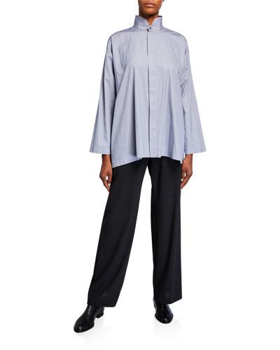 Cotton Slim Shirt and Matching Items