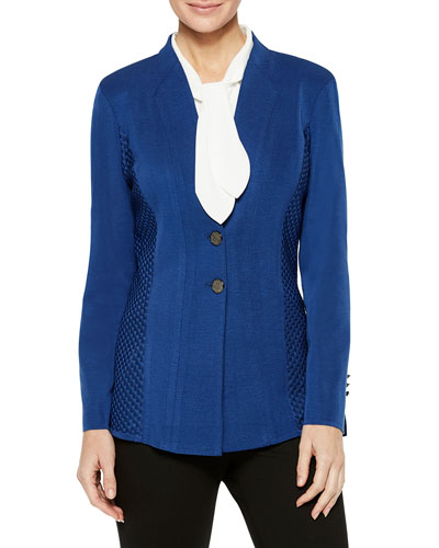 Textured Panel Blazer and Matching Items