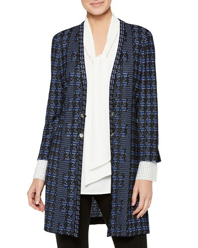 Media Pattern Duster Cardigan and Matching Items