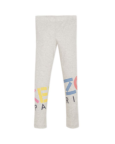 Multicolored Logo Print Leggings  Size 2-6  and Matching Items